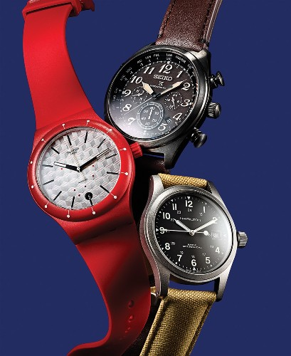 These watches find plenty of power without lithium-ion batteries