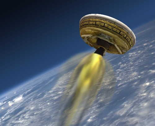 NASA's 'Flying Saucer' Lander Is Going For A Test Spin Today
