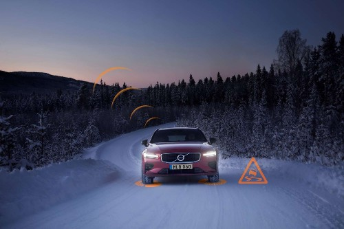 Volvo taught its cars to warn each other about icy roads