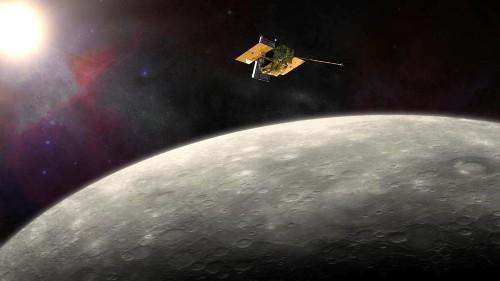 NASA's MESSENGER Probe Set To Slam Into Mercury Today