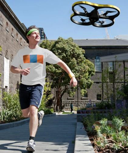 Video: Motivating Robot Follows You on Your Morning Run