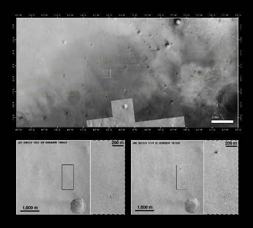 New NASA Photos Show ExoMars Lander May Have Exploded On Impact