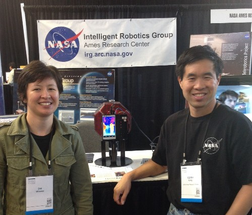Experimental Google Smartphone Becomes Brain Of Space Robot