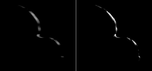 MU69, previously presumed a space snowman, is instead a pair of cosmic pancakes