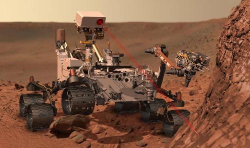 3D-Print A Model of NASA's Curiosity Rover For Your Desk