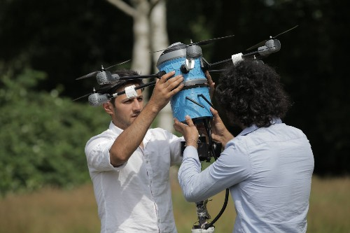 These brothers built a mine-sweeping drone