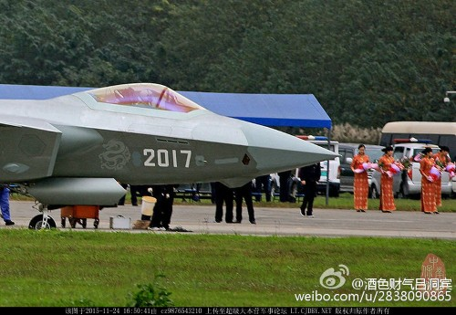China Is Building The World's Second Stealth Air Force