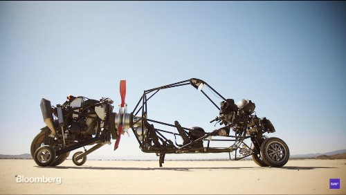 California Engineer Is Building A Gyrocopter-Inspired Flying Car
