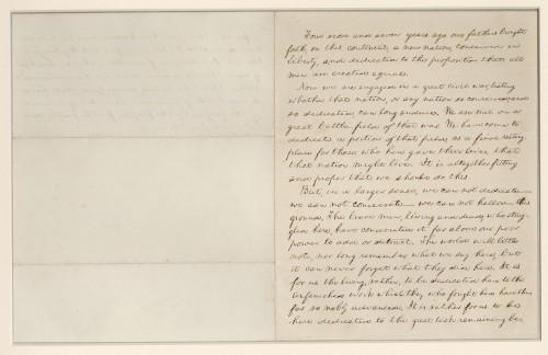 How Scientists Preserve Lincoln's Original Gettysburg Address Manuscripts