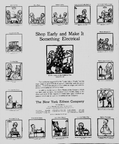 Vintage Ad Highlights 1916's Hottest Christmas Gadgets