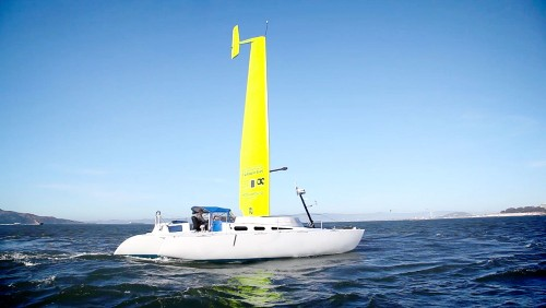 This Wind-Powered Commuter Ferry Is Built Like A Racing Boat