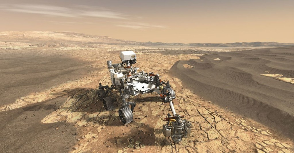 12 stunning images from past Mars missions