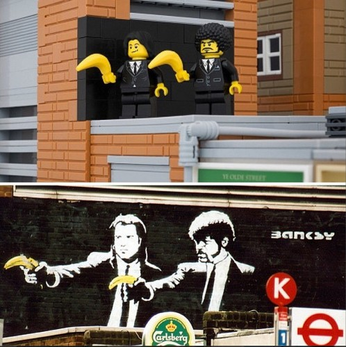 'Bricksy' Lego Art And Other Amazing Images From This Week