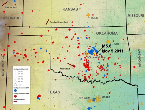 More Than 200 Earthquakes Have Shaken Oklahoma Since 2009