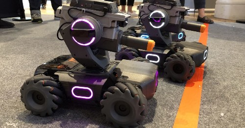 DJI's first STEM toy is a tank that teaches coding