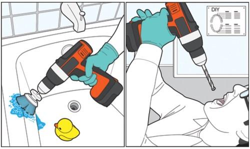 Good Idea/Bad Idea: Use A Power Drill To...