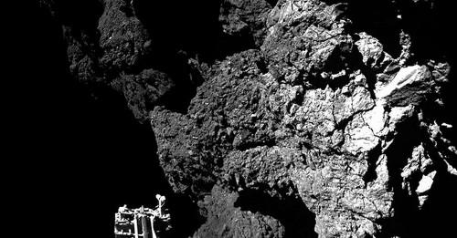 15 incredible photos taken by the Rosetta spacecraft