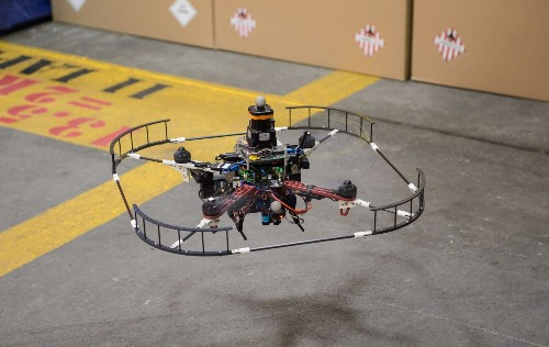 Watch DARPA'S Drone Dodge Obstacles, Fly At High Speed