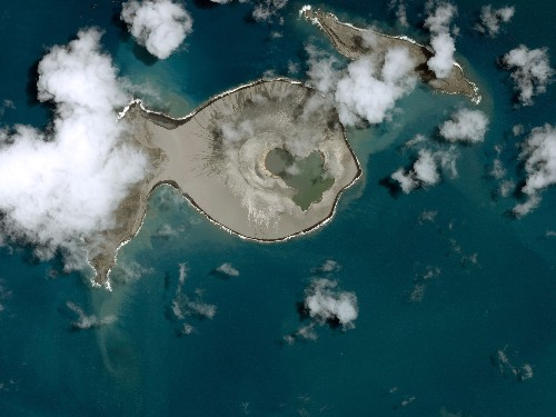 An Underwater Volcano Just Created A New Island