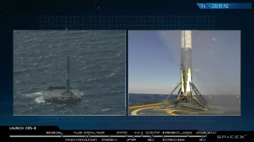 SpaceX Has Successfully Landed Its Rocket On A Drone Ship