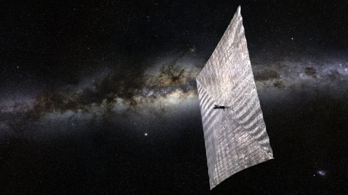 A Cosmic Ray Brought Bill Nye's Solar Sail Back Online