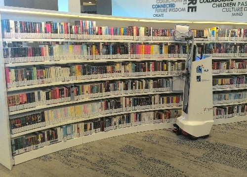 Robo Librarian Tracks Down Misplaced Books