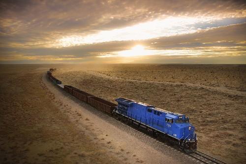 Blue Train Dramatically Cuts Down On Pollution