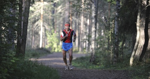 Why are some athletes able to compete into their 40s?
