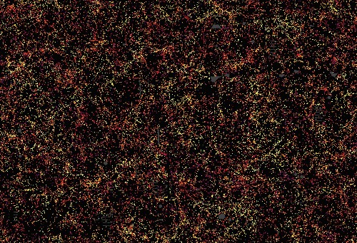 Here's a tiny slice of the largest-ever 3D map of the cosmos