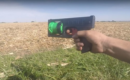 Man 3D-Prints Working Revolver With His Name On It