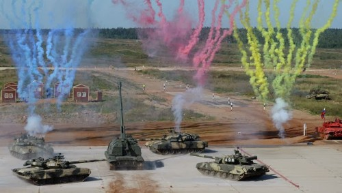 "China Joins The Tank Biathlon, the ""Sport"" of Main Battle Tanks"