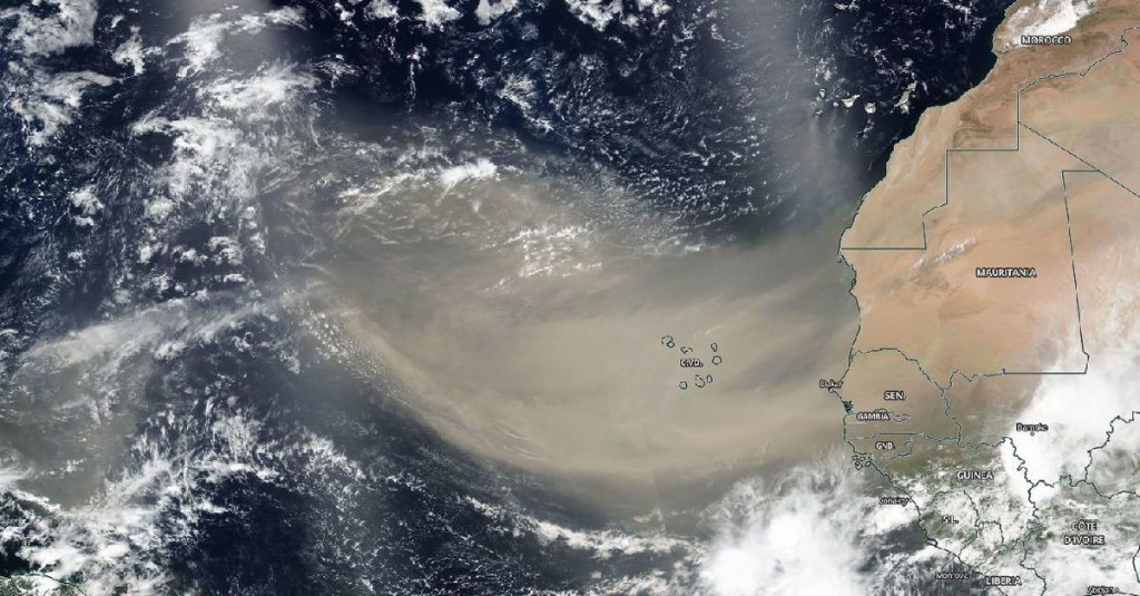 Five wild facts about the Saharan dust plume before it hits the US