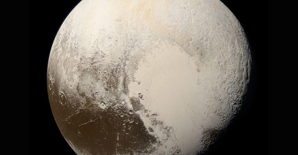 Frigid Pluto may have had a toasty start