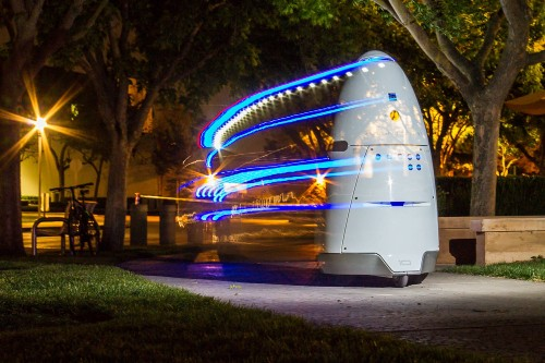 Uber Parking Lot Patrolled By Security Robot