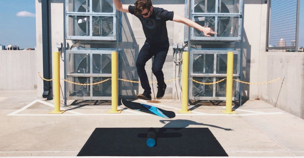 Balance boards make for a scary, fun, and surprisingly perfect pandemic workout
