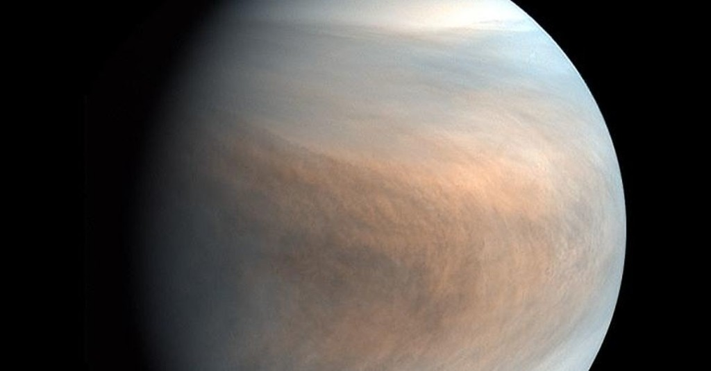 Venus's atmosphere shows potential signs of life