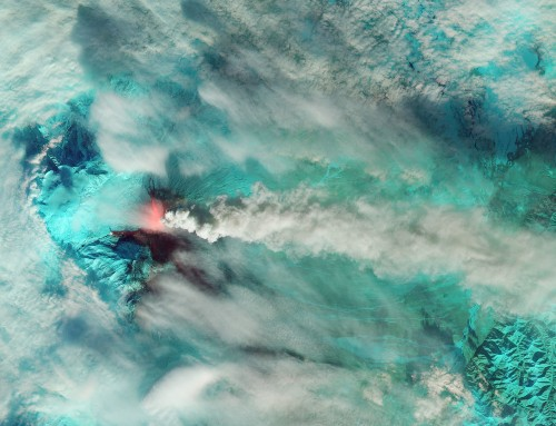 Big Pic: An Overactive Russian Volcano Covers Kamchatka In Ash