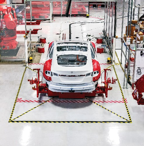 Inside The Tesla Factory
