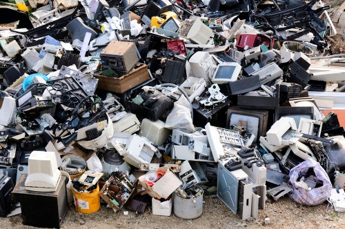 You throw out 44 pounds of electronic waste a year. Here's how to keep it out of the dump.