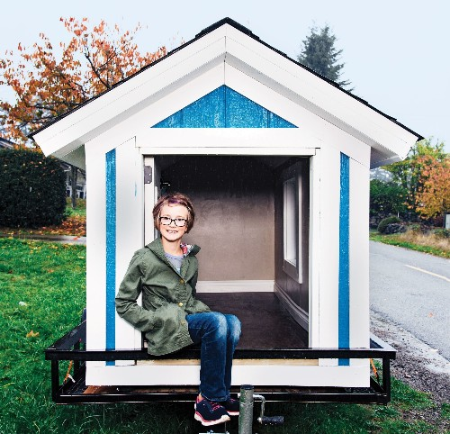 This 9-Year-Old Builds Tiny Houses For The Homeless
