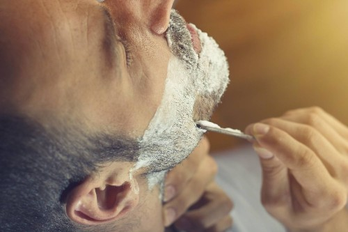 For the closest shave, get naked—doctor's orders