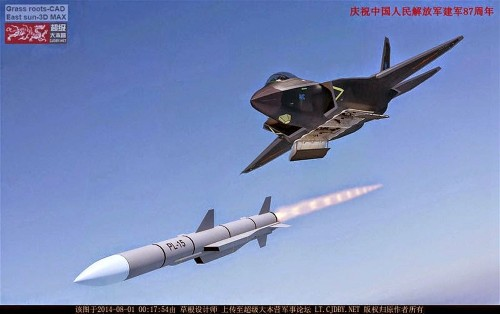 Chinese Air-To-Air Missile Hits Targets, Spooks USAF General