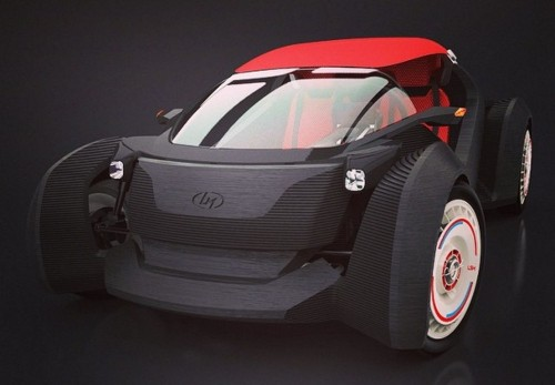 Print, Assemble, Drive: The 3-D Printed Plastic Car