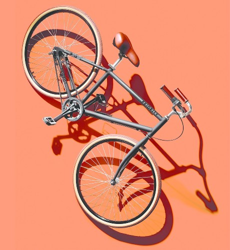 The Bike That Never Needs Repairs