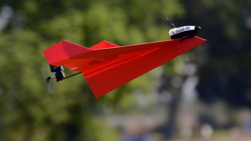 Motorized Paper Airplanes Are Drones, According To FAA