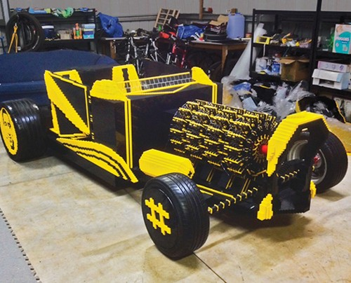 A Life-Size LEGO Car You Can Actually Drive