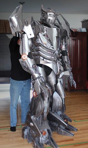 A Robotic Suit Good Enough To Deceive A Decepticon