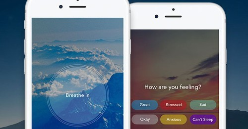 Aura is a meditation app that helps you relieve stress in three minutes