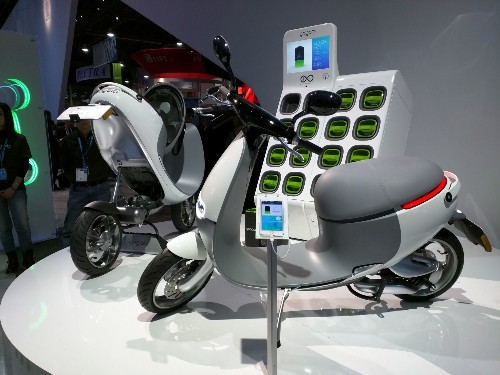 CES 2015: The Gogoro Smartscooter Is A Tesla On Two Wheels