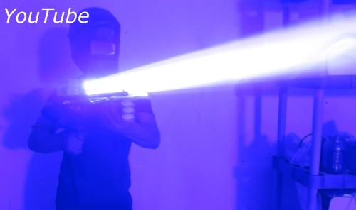 This Laser Bazooka Is A Great Way To Burn Your Eyes Out
